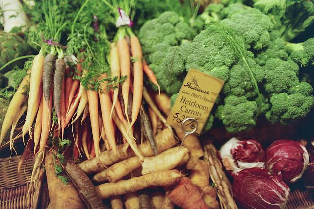 gene theil's organic heirloom carrots