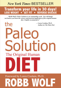 The Paleo Solution cover NYT