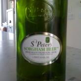 St. Peters Sorgham Beer Rocks!